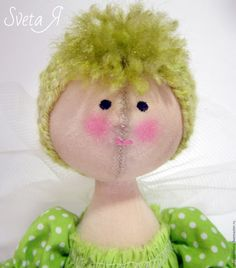 Buy Small fairy textile doll. The doll is interior. - doll, dolls