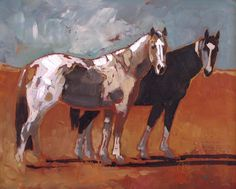 Pasture Buddies | From a unique collection of animal paintings at…