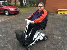 Mr Whiting chose the Air 2 mobility scooter which Quingo is right for you? Get a home test drive here