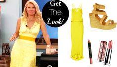 Eleni Menegaki yellow dress! ~ Tο κίτρινο είναι το χρώμα του ήλιου! Φόρεσε το όπως η Ελένη!