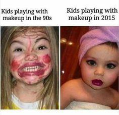 kids in 90s vs kids in 2015