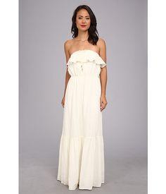 Juicy Couture Ruffled Maxi Dress Angel - Zappos.com Free Shipping BOTH Ways