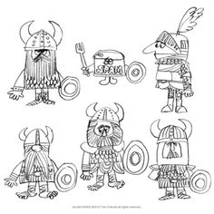"Toru Fukuda's illustration book, ""Doodle Book2"" 2cover, 8pages, 2039*2894px, pdf data. gumroad.com/l/JxnH"