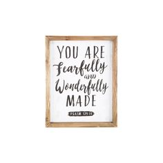 Wonderfully Made Wood Wall Decor (395 MXN) ❤ liked on Polyvore featuring home, home decor, wall art, wood home decor, wooden home accessories, wooden wall art, wooden home decor and wood wall art
