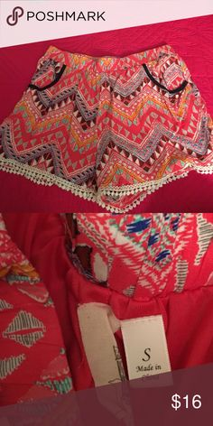 Aztec Shorts Size Small and super cute! Shorts
