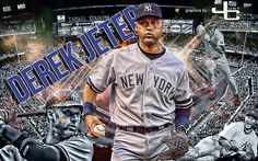 Derek Jeter -  graphics  by justcreate  Sports Edits