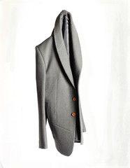 Thom Botwood - Boiled Wool shawl collar. #doonethingwell