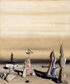 Yves Tanguy - 1936 - Les Portes Tournantes