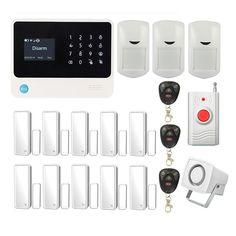 Home Alarm System Smart Anti-theft Siren, SOS Panic Intruder Burglar Alarm, GSM/WiFi/GPRS/Wireless Security Alarm Kits, APP Control, Multi-functional DIY Family/Business Alarm Security System