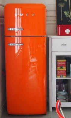 1000 images about ode to an orange smeg fridge on. Black Bedroom Furniture Sets. Home Design Ideas