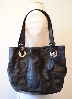 Fossil Genuine Leather Shoulder Bag #Fossil #ShoulderBag