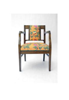reloved Vintage Armchair Art Noveau Design di pl2a1design