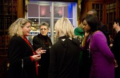 Our CEO Tanya Barron (left); Jude Kelly (centre) and Gillian Joseph (right)