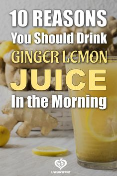 Benefits Of Drinking Ginger, Lemon Water Benefits, Health Benefits Of Ginger, Ginger Nutrition, Drinking Lemon Juice, Lemon Ginger Juice Recipe, Lemon Drink, Juicing For Health, Health Eating