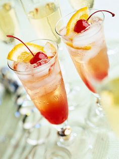Shirley Temples---nonalcholic drinks