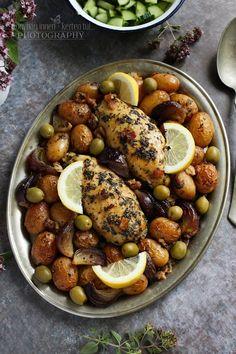 Mediterrán fűszeres csirke