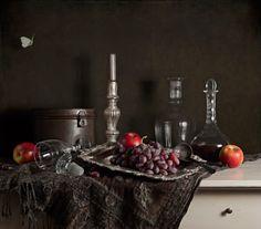 Stilleven-met-wijn-en-fruit