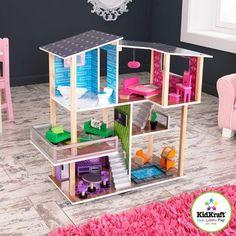 Kidkraft Modern Houten Woon poppenhuis