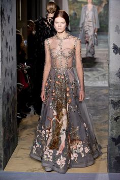 Valentino haute couture spring 2014 | Now THIS is a dress to get married in. Perfect.