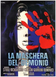 "Movie poster for ""Black Sunday"" (La maschera del demonio, Mario Bava) Horror Movie Posters, Best Horror Movies, Horror Films, Scary Movies, Good Movies, Horror Comics, Vintage Films, Vintage Horror, Sci Fi Films"