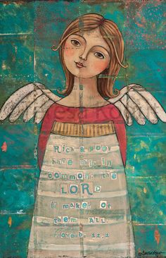 Maker of the All 11x14 print on wood by Teresa Kogut.