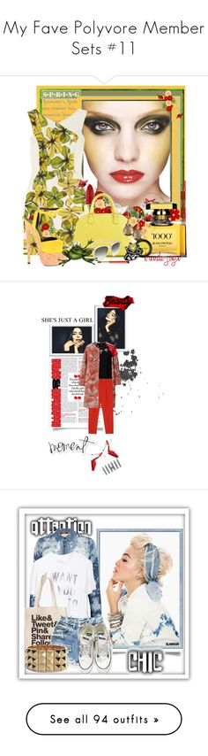 """""""My Fave Polyvore Member Sets #11"""" by latoyacl ❤ liked on Polyvore featuring Graftobian, Kerr®, Jason Wu, Kevyn Aucoin, Lancôme, Jean Patou, Viva La Diva, J.Crew, Paul Smith and Sharon Mills"""