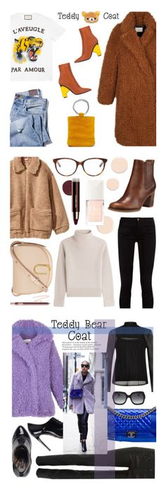 """""""Winners for Snuggle Up: Teddy Bear Coats"""" by polyvore ❤ liked on Polyvore featuring Gucci, Balenciaga, Sandro, Simon Miller, teddybearcoats, Estée Lauder, Charlotte Tilbury, Christian Dior, H&M and Vanessa Seward"""