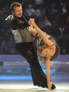 """Torvill and Dean """"Dancing On Ice"""" tour."""
