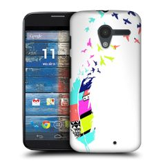 Head Case Designs Neon Feather Protective Back Case Cover for Motorola Moto X | eBay
