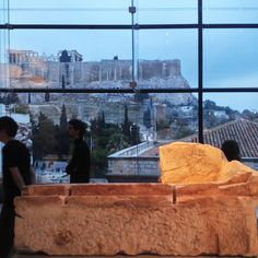 Acropolis museum, Athens, lights, reflections, architecture, layering