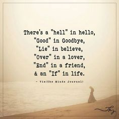 """There's a """"hell"""" in hello - http://themindsjournal.com/theres-a-hell-in-hello/"""