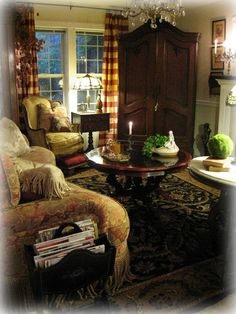 delusions of grandeur: My French Country Family Room