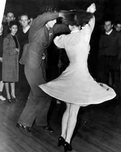 Image result for spinning swing dance
