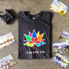 Canada 150 T-Shirt  #Canada150 #Canada #Toronto #Ottawa #Vancouver #Edmonton