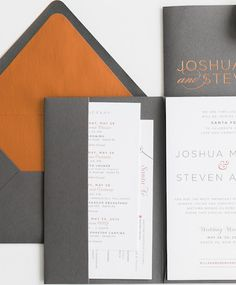 Modern Wedding Invitations thumb