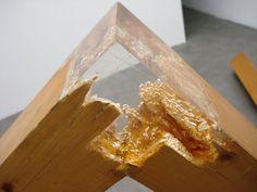 Sculpture bois et résine