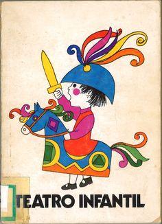"""Teatro infantil / obras recopiladas de la revista """"BAZAR""""; editada por la Delegación Nacional de la Sección Femenina. -- Madrid : Almena, D.L. 1975. -- ISBN 84-7014-066-3  *BPC González Garcés  ID 145 Fondo infantil de reserva"""