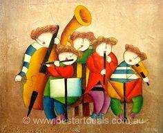 Stunning Kids Oil Painting  http://bestartdeals.com.au