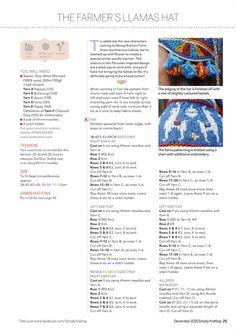 Simply Knitting Issue 12 2015 - 轻描淡写 - 轻描淡写