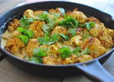 Creamy Curried Baked Cauliflower Recipe - Tablespoon
