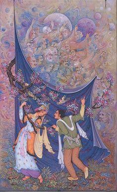 Rubaiyat of Omar Khayyam 1 by Reza Badrossama