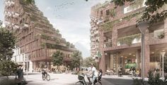 Gallery of AART to Revitalize Aarhus Port District with Terraced, Mixed-Use Complex - 3