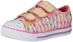 Skechers Kids Chit Chat Secret Chic Light-Up Sneaker (Little Kid),Pink/Gold,12 M US Little Kid - http://all-shoes-online.com/skechers-kids/skechers-kids-twinkle-toes-prolifics-light-up-kid-86