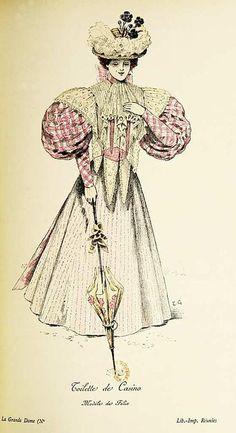 Fashion in 1895