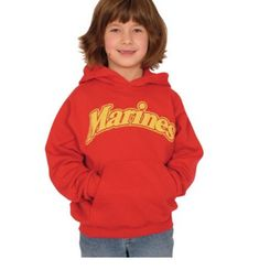 Youth Pullover Marines Hooded Sweatshirt #usmc #marinecorps #usmcapparel #hoodedsweatshirt #sweatshirt