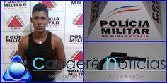 Homem que praticava roubo de celulares em via pública é preso em Campos Gerais-MG