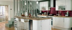 Burford Gloss White Kitchen Range | Kitchen Families | Howdens Joinery