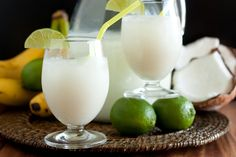Brazilian Limeade... need to add some liquor to this recipe but otherwise looks amazing!