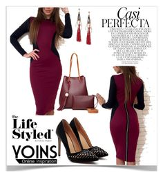 """""""Life Styled Yoins"""" by kiveric-damira ❤ liked on Polyvore featuring Whiteley, yoins, yoinscollection and loveyoins"""