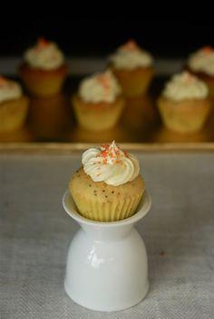 Orange Poppyseed Cupcakes